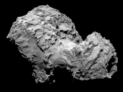67P / C-G Comet. Credit: ESA/Rosetta/MPS for OSIRIS Team