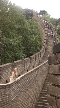 The Great Wall of China, feat. me in a silly hat.